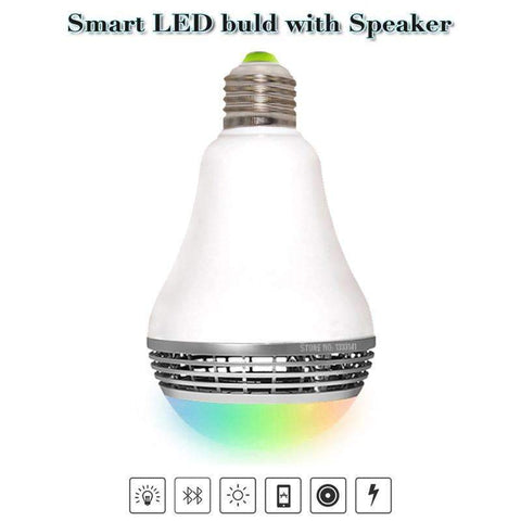 Wireless Bluetooth Speaker Light Bulb Speaker