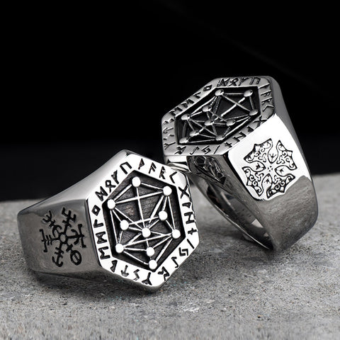 Image of Vegvisir Ring