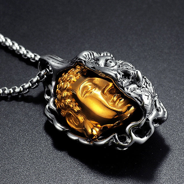 Devil Buddha Necklace