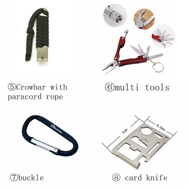 6-in-1 Survival Kit