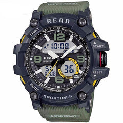 Men's Sport Watch - LED Digital Waterproof