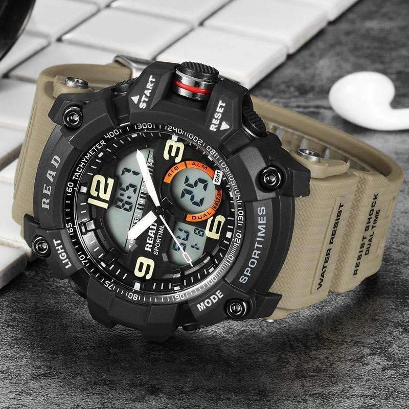 Mens Sport Digital Watch [ 6 Color Available ]