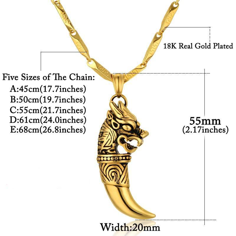 grande gifts products giftssize long gold necklace brand color chain size jewelry gothic men male