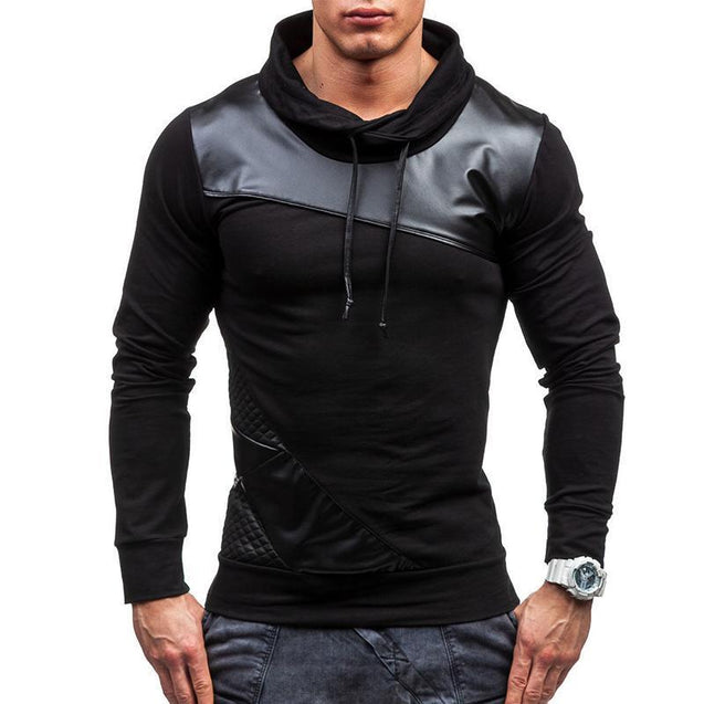 Preferito Slim fit Sweatshirts With Patchwork
