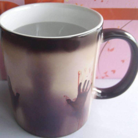 Image of The Walking Dead Color Changing Ceramic Coffee Mug
