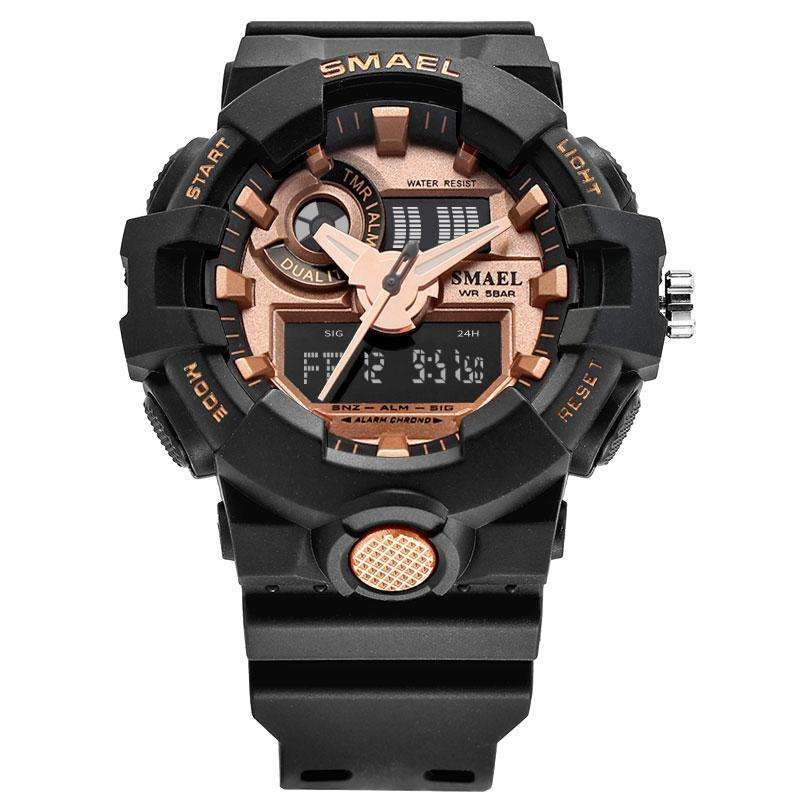 Analog and Digital Watch Mens Military Watch [ 8 Variation ...