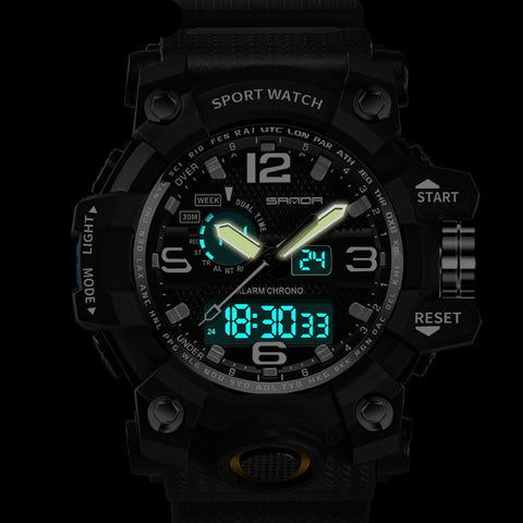 Image of LED Display and Multi-functional Digital Watch