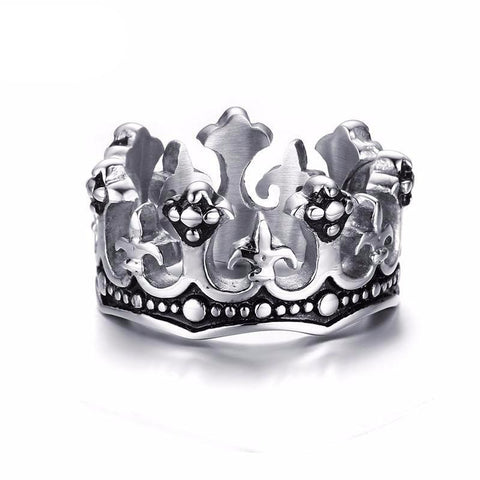 Image of King Crown Ring