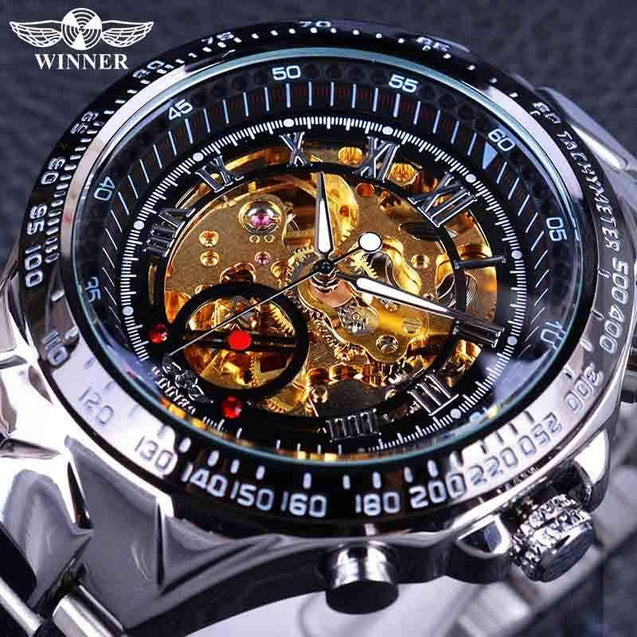 Skeleton Watch,  Luxury  Automatic Watch