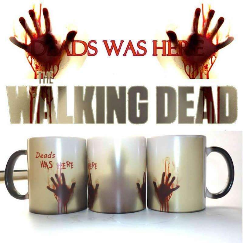 The Walking Dead Color Changing Ceramic Coffee Mug