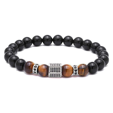 Image of Luxury Tiger Eye & Agate Stone Bracelet [4 Variations]