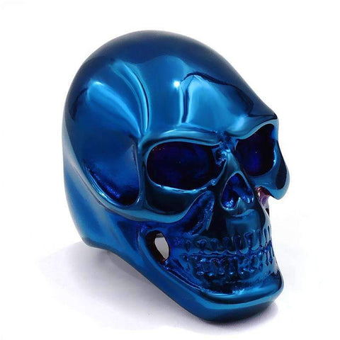 Image of blue skull ring