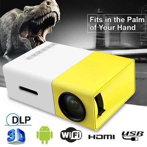 Portable Projector For iPhone & Android