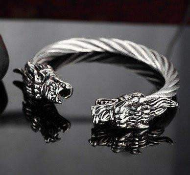 Image of Dragon Bracelet With Tibetan Steel [3 Variations]