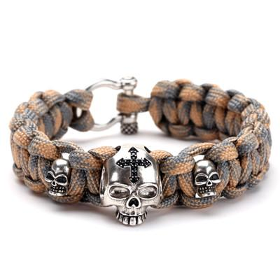 Image of Skull & Cross Paracord Bracelets