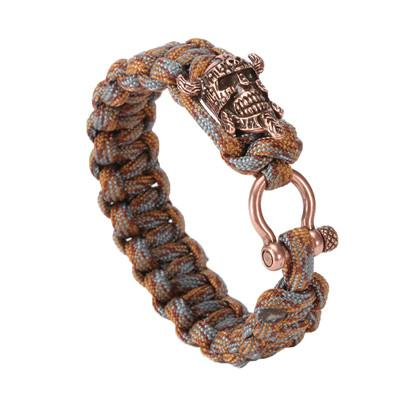 Image of Viking Skull Paracord Bracelet