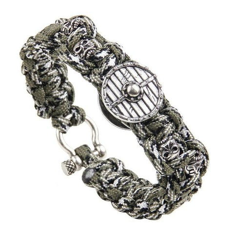 Image of Viking Shield Paracord Bracelet