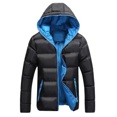 BARRET Mens Hooded Winter Jacket