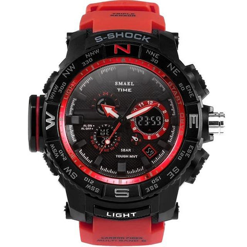 Military Tactical Dual Digital Watch
