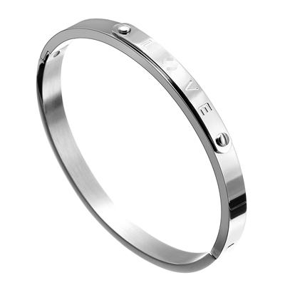 Image of Matching Couple Bangle Bracelets