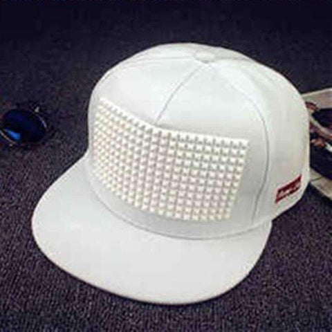 Image of Plastic Rectangle Flat-brimmed Baseball Cap - [5 Variants]