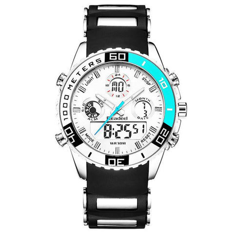 Image of Dual Display Waterproof Wrist Watch