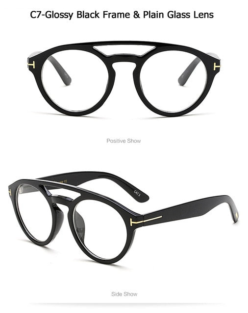 Clint Style Round Frame Vintage Sunglasses