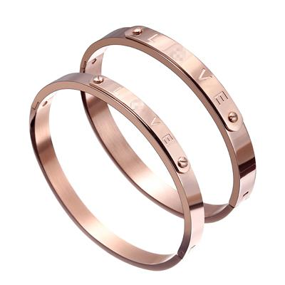 Matching Couple Bangle Bracelets