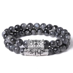 Mens Beaded Bracelet Sets [ 3 Variation ]