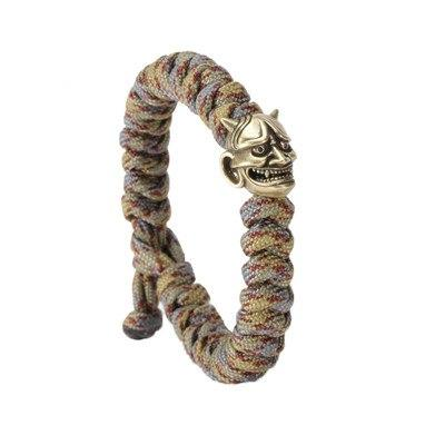 Image of Smiling Evil Paracord Bracelet