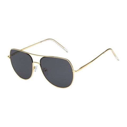 Image of Men Aviator Sunglasses Retro Fashion Sunglasses