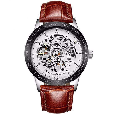 Image of Mechanical Skeleton Men's Casual Watches [12 Variation]