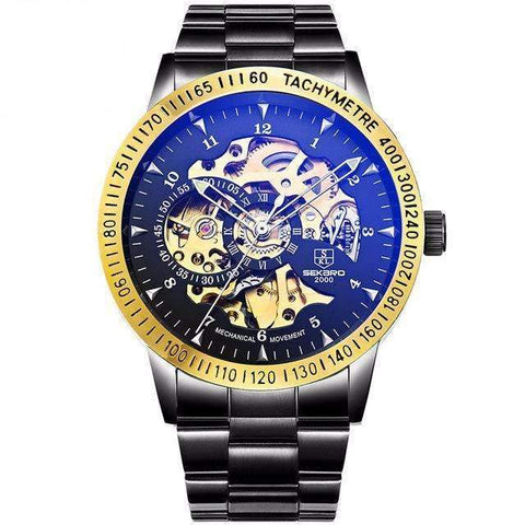 Image of Mechanical Skeleton Men's Casual Watches