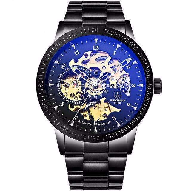Mechanical Skeleton Men's Casual Watches [12 Variation]