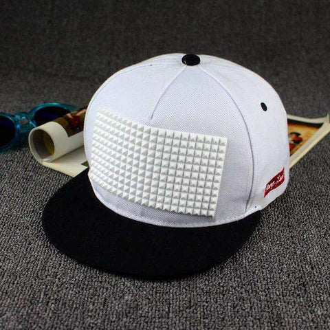 Plastic Rectangle Flat-brimmed Baseball Cap - [5 Variants]