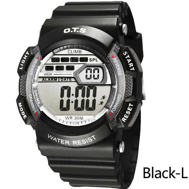 Water Resistant Unisex Digital Watches [ 10 Colors Available ]