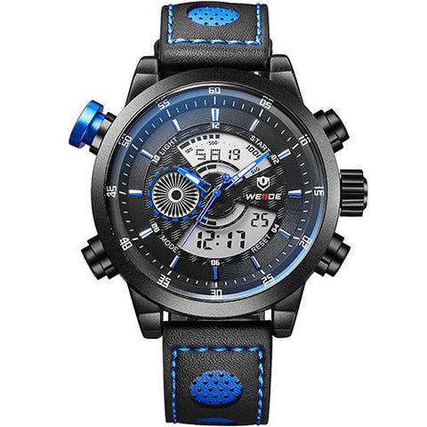 Image of Dual Display Multi-Function wristwatch