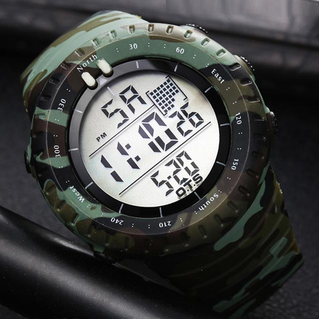 Naval Force Digital Watch