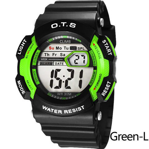 Image of Water Resistant Unisex Digital Watches [ 10 Colors Available ]