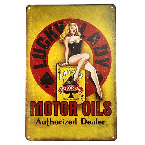 Image of Vintage Garage Signs