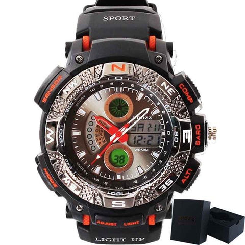 Image of Men's Digital Analog Sport Watch