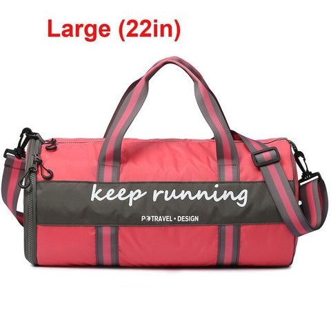 Outdoor Sports Camping Dry Wet Separated Gym Duffle bag