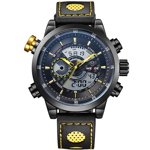 Dual Display Multi-Function wristwatch