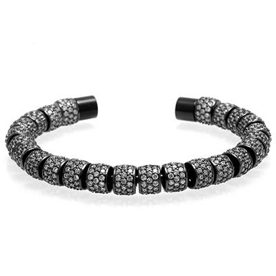 Image of Iced Out  Bangle Cuff Bracelet