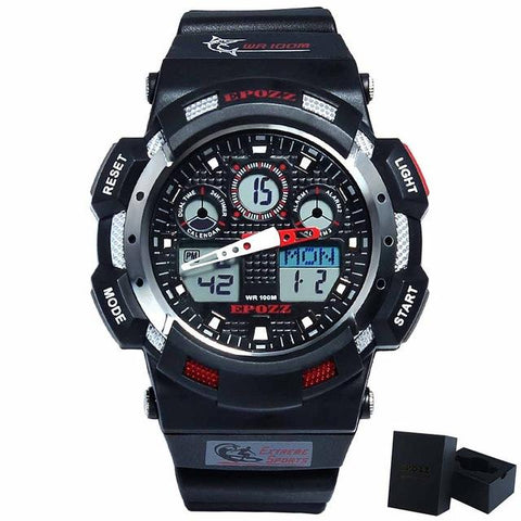 Image of Mens White Digital Watch