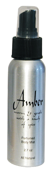 Amber Natural Body Mist