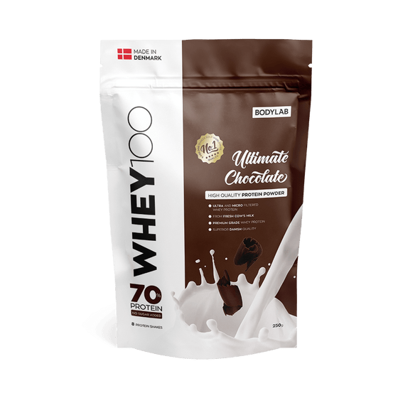 Bodylab Proteīni Ultimate Chocolate Bodylab Whey 100 (250 g)