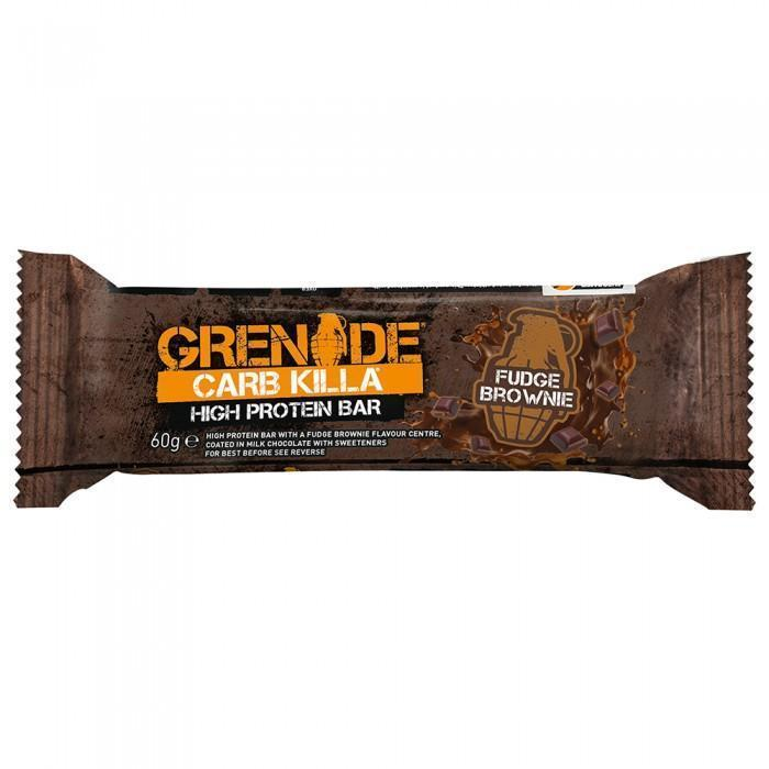 Grenade Protein Bar Fudge Brownie Grenade CARB KILLA® Proteīna batoniņš (60 g)