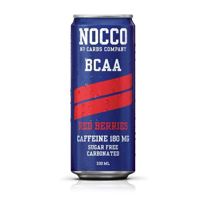 Nocco Energy Drink Red Berries Nocco BCAA (330 ml)