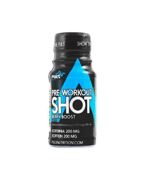 Puls Nutrition Berry Boost PULS Preworkout Shot (60 ml)